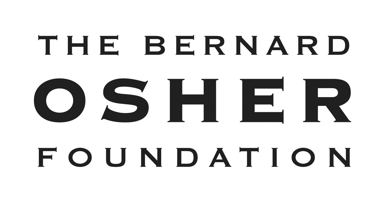 The Bernard Osher Foundation black logo