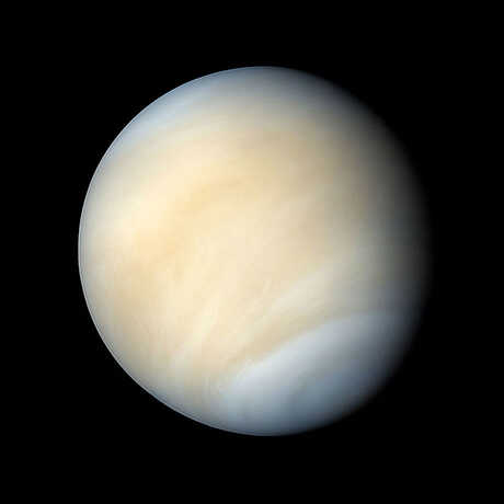 The planet venus, image by NASA/Caltech/JPL