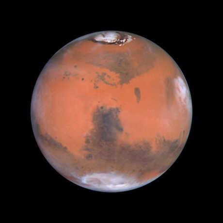 Image of planet Mars
