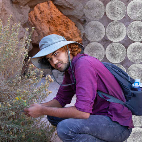 Kunal Palawat in the field