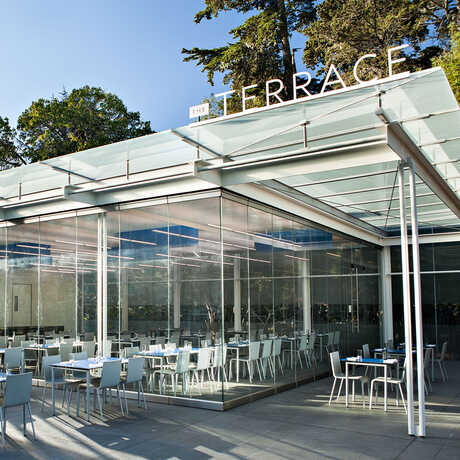 The Terrace Restaurant at the Academy